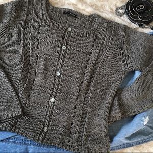 Rag and Bone size Small Chunky Open Knit Sweater